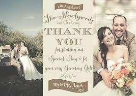 wedding thank you postcards wedding thank you cards wedding thank you cards with photo photo