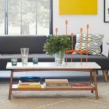 west elm reeve coffee table mid century pop up coffee table marble walnut mid century