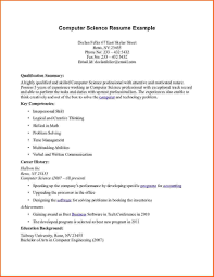 Computer Science Resume Sample by Resume For Computer Science Teacher Free Resume Example And