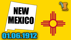 Nm State Flag Quick History Of New Mexico Youtube