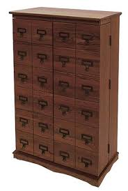 Cd Cabinet With Drawers Amazon Com Leslie Dame Cd 612lw Solid Oak Mission Style