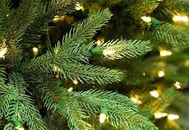 pre lit tree realistic trees ge pre lit tree
