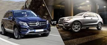 mercedes benz jeep matte black interior 2016 mercedes benz gle350 vs mercedes benz ml350