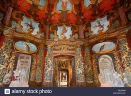 room wall colours stock photos room wall colours stock images music room with italian wall paintings castle hellbrunn salzburg austria stock image