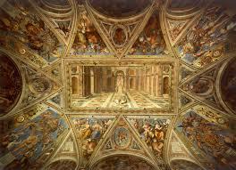 Ceiling Art File Tommaso Laureti Ceiling Of Room Of Constantine Jpg