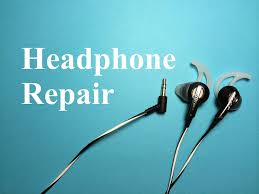 how to repair or fix headphones youtube