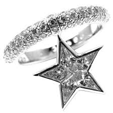 star rings diamonds images Chanel comete diamond gold star ring at 1stdibs jpeg