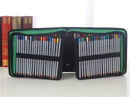 pencil bag 120 holder portable large capacity school pencil drawing pen