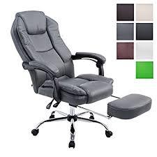 fauteuil de bureau gris clp chaise de bureau ergonomique castle chaise bureau pivotant à