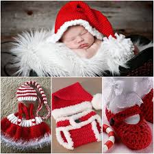baby christmas crochet christmas sets for baby free pattern beesdiy