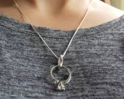 necklace with ring holder images Ring holder pendant etsy jpg