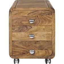 caisson bureau bois caisson de bureau contemporain bois authentico kare