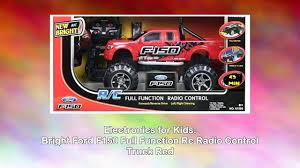 nitro circus rc monster truck bright ford f150 full function rc radio control truck red video