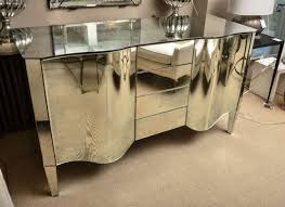 sideboards astounding mirrored sideboard mirrored credenza