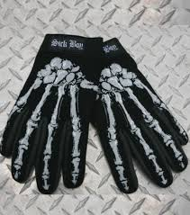 halloween skeleton gloves halloween treats for the street baggers