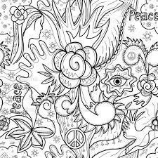 cool abstract coloring page free download