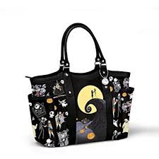 disney tim burton s the nightmare before tote bag by