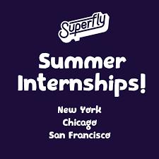 Summer Entertainment Internships - superfly linkedin