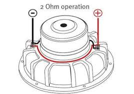 extraordinary subwoofer wiring diagram 5 ohm 2 subs dvc 4 2ch