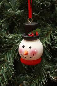 3 handmade tole painted christmas ornaments holiday decoration