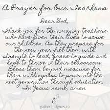 thanksgiving prayer for our teachers divascuisine