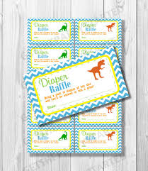 dinosaur baby shower raffle tickets printable baby shower raffle tickets
