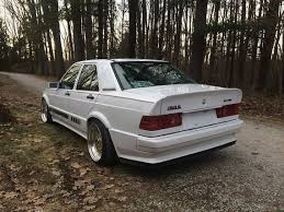 mercedes 190e amg for sale tuner tuesday 1989 mercedes 190e 2 6 revisit german cars