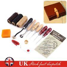 Wood Carving Tools Ebay Uk by Leather Tools Ebay