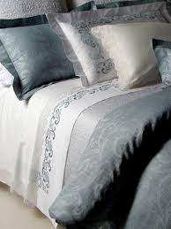 luxury embroidered bedding custom bed linens aiko luxury linens