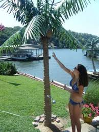 artificial palm tree misting system outdoor artificial palm
