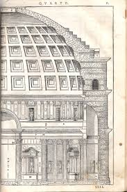 illustrations diagrams photographs of the pantheon in rome rome