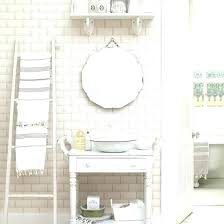 Shabby Chic Bathroom Furniture Shabby Chic Wall Cabinets For The Bathroom Neutral Shabby Chic