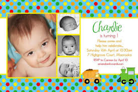 photo card birthday invitations for boys