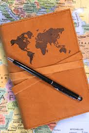 Leather Map World Map Leather Journal U2013 In Blue Handmade World Map Leather