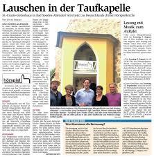 Sparkasse Bad Sooden Allendorf Sparkassenstiftung Presse