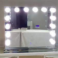 Dual Illuminated Vanity Mirrors Shop Lighted Vanity Mirror On Wanelo