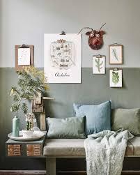 blauw groene zithoek interior inspiration vtwonen home