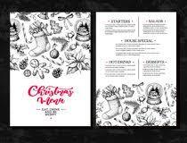 christmas menu template stock illustrations u2013 2 538 christmas menu