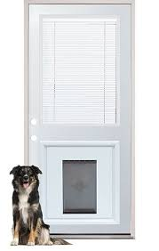 sliding glass door with built in dog door no cutting into your house for the doggie door this larson storm