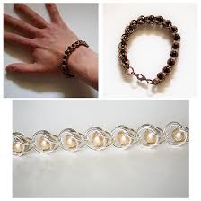 diy bracelet with chain images Diy chain maille bracelets png