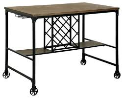 Counter Height Bar Table Furniture Of America Silvia I Counter Height Pub Table With