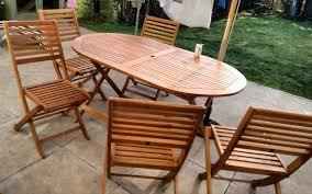 Folding Garden Chairs Argos 6 Seater Wooden Patio Set 127 49 Argos With Code Hotukdeals