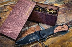 Groomsmen Gifts Knife Amazon Com Engraved Camping Knife Wood Box Groomsmen Gift