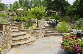 Sloped Backyard Landscape Ideas 11 Best Landscaping Ideas For Downward Sloping Backyard Walls