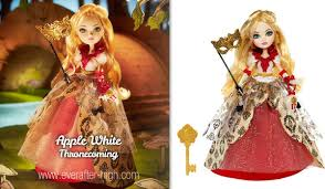 Ever After High Apple White Doll Apple White Thronecoming Doll Ever After High
