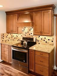 kitchen backsplash with cabinets and light countertops ba1025 travertine glass