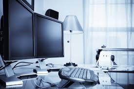 workspace productivity large monitor vs dual monitor setup
