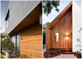 wood paneling exterior warm woods with gray or white siding maureen stevens