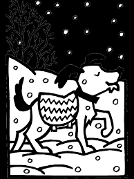 winter coloring pages within printable omeletta me