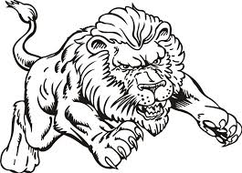 realistic lion king coloring pages for pictures free